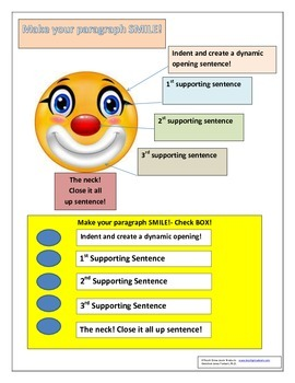 Make your paragraph SMILE!
