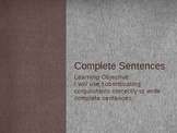 Make your sentneces complete with subordinating conjunctions!