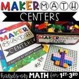 Maker Math Centers {1st-3rd}