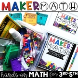 Maker Math {Hands-on Math for 3rd-5th}