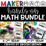 Maker Math BUNDLE {Hands-on Math for K-5th}
