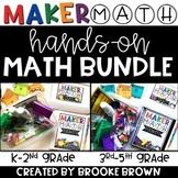 Maker Math BUNDLE {Hands-on Math for K-5th}