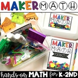 Maker Math {Hands-on Math for K-2nd}
