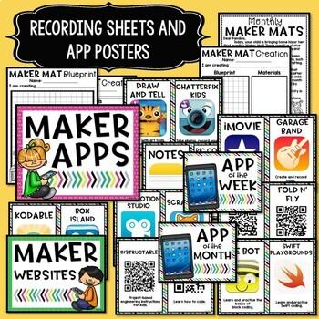 Maker Mats for Makerspaces - Google Slides & Seesaw - Distance Learning