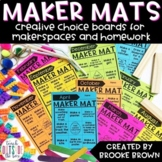 Maker Mats for Makerspaces - Google Slides & Seesaw - Dist