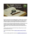 Maker Mystery Challenges