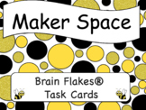 Maker Space- Brain Flakes® Task Cards