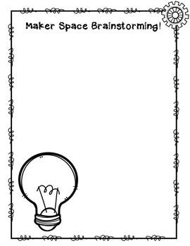 Maker Space Brainstorming