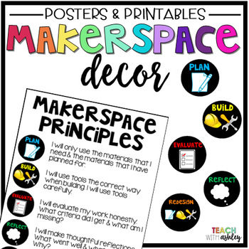 Maker Space Decor