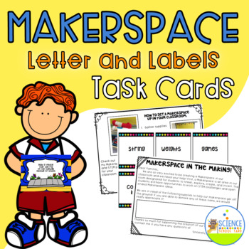 Maker Space Letters and Labels Freebie