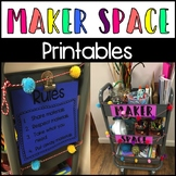 Maker Space Printable