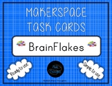 NEW!!!  Original MAKERSPACE 56 Ready To Use Brain Flakes® STEM Task Cards