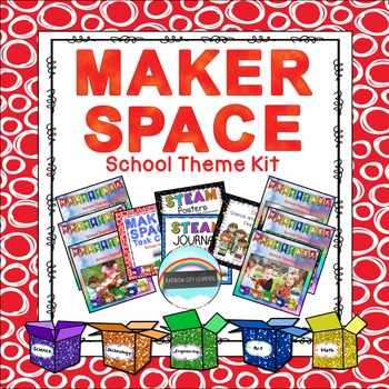 Maker Space School Theme Kit Bundle
