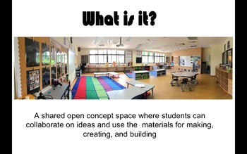 Maker Space - Start Up Kit and First Lesson - Primary Classrooms