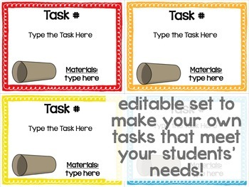 Maker Space Task Card Bundle Volume 2 (Simple STEAM!)