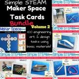 Maker Space Task Card Bundle Volume 2 (Simple STEAM!)
