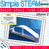 Maker Space Task Cards (Index Cards)