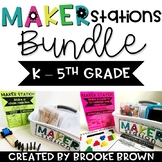 Maker Stations for Makerspaces BUNDLE {K-5th Grade} - Distance Learning
