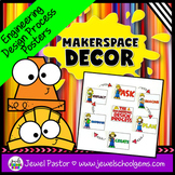 MakerSpace Decor (Engineering Design Process Posters)