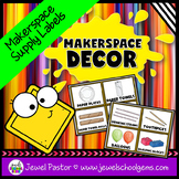 MakerSpace Decor (MakerSpace Supply Labels)