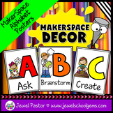 MakerSpace Decor (STEAM Alphabet Posters)