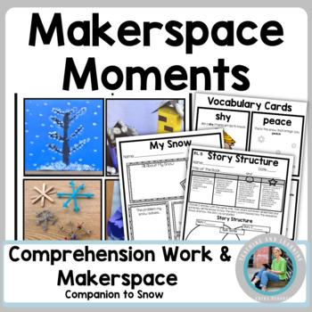 Winter MakerSpace Activities in Literature: {Snow}