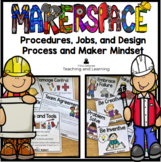 Makerspace Posters: Procedures, Jobs, Design Process, and