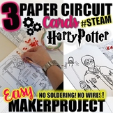 Makerproject/STEAM - Harry Potter Paper Circuit Designs