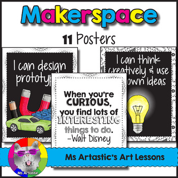 Makerspace: 11 Posters for the Classroom