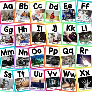 Makerspace Alphabet