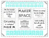 Makerspace Bulletin Board