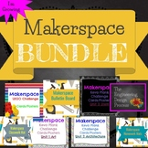 Makerspace Bundle Bulletin Board, Mats, Lego, and Keva plank posters