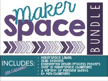 Makerspace Bundle - Editable!