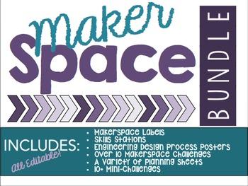 Makerspace Bundle - Editable!