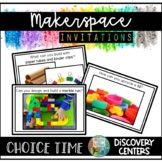 Makerspace STEM STEAM Challenges | Choice Time Discovery Centers