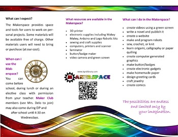 Makerspace Creative Brochure and Flyer