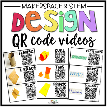 Makerspace Design Posters & QR Code Videos