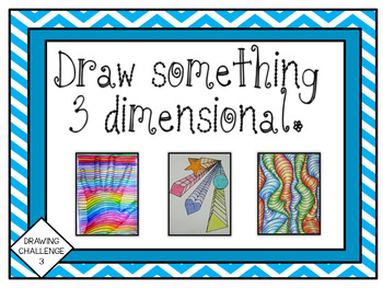 Makerspace: Drawing Challenge Task Cards