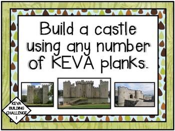 Makerspace: KEVA Plank Challenge Task Cards