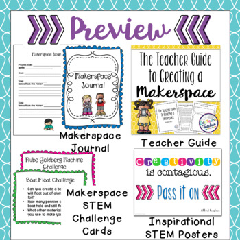 Makerspace Kit BUNDLE with Makerspace Challenge Cards