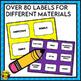 Makerspace Label Set