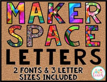 Makerspace Letters