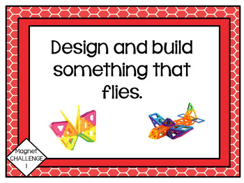 Makerspace: Magnetic Block Challenge Task Cards