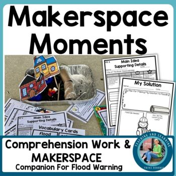 Makerspace Moment in Literature {STEM}: Flood Warnings