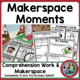 Makerspace Moments in Literature: Christmas {Are You Grumpy, Santa?}