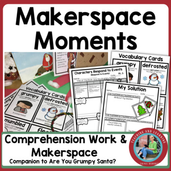 Christmas Makerspace Activities in Literature: {Are You Grumpy, Santa?}