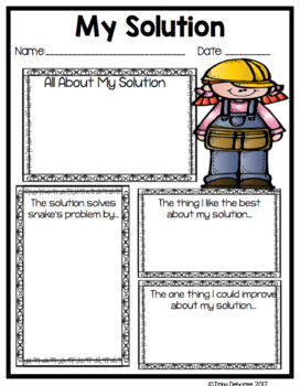 Makerspace Moments in Literature: Engineering and Literature Freebie