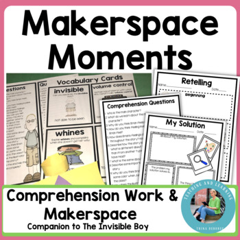 Makerspace Moments in Literature: Engineering and Literature {Invisible Boy}