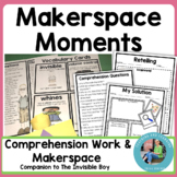 Makerspace Activities in Literature: Engineering and Literature {Invisible Boy}