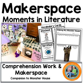 Halloween Makerspace Activities in Literature:{House That Monster Built}
